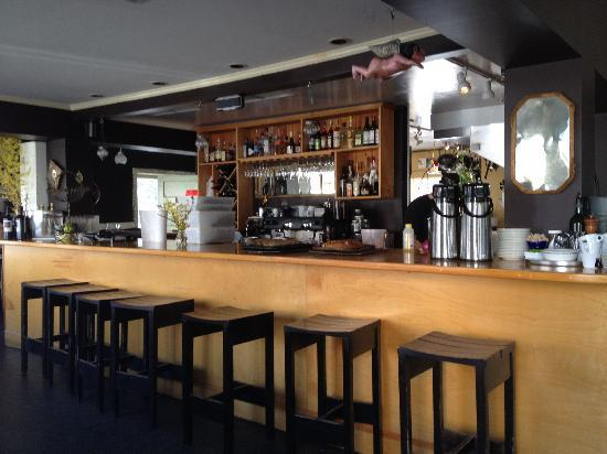 Francine Bistro : We love to sit at the bar for dinner and chat with Chip the bartender.