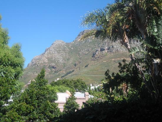 Cactusberry Lodge: Blick vom privaten Balkon aus