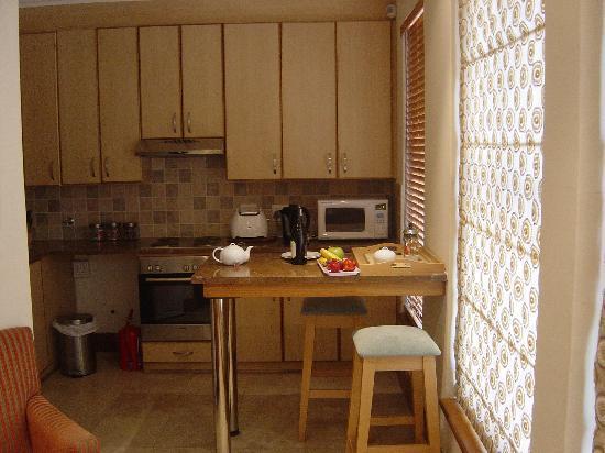 Oude Werf Hotel: Oak Appartment kitchen