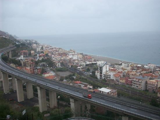 Hotel Antares: blick vom balkon