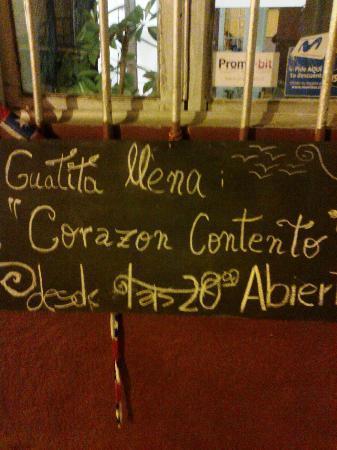 Corazon Contento: guatita llena....happy heart
