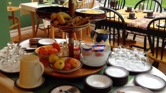 Gleann Fia Country House: breakfast