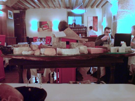 Hotel de France: Cheese selection