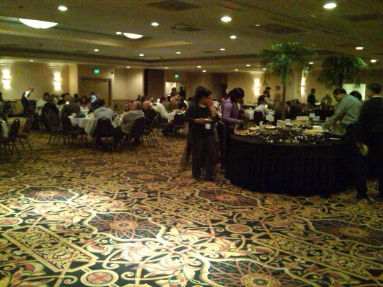 Lancaster Host Resort and Conference Center : Lunch in Ballroom