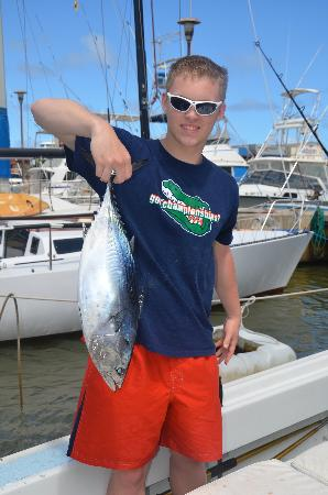 Captain Don's Sportfishing: Wavy back tuna