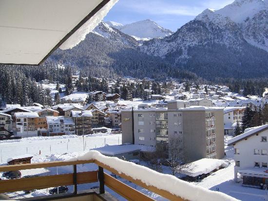 Sunstar Alpine Hotel Lenzerheide: Aussicht vom Zimmer