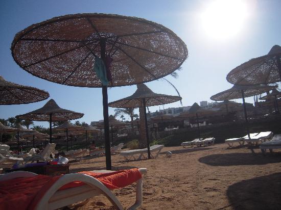 Mexicana Sharm Resort : Sandy beach