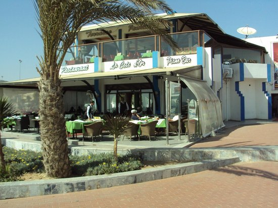 La Cote D'Or - Cafe & Restaurant: La Cote D'Or on Agadir seafront