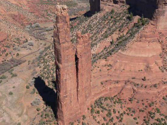Holiday Inn Canyon de Chelly: Spider Rock on the South Rim of the Canyon