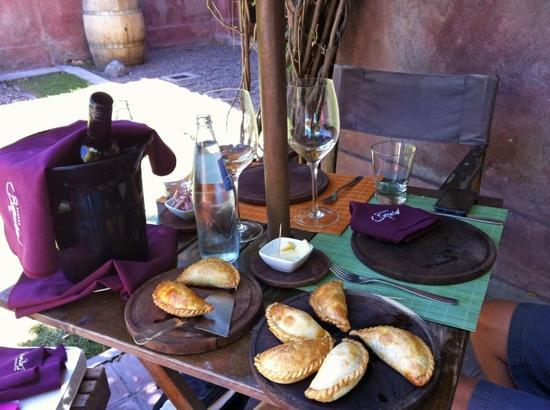 Posada Borravino : Empanadas im Borravina