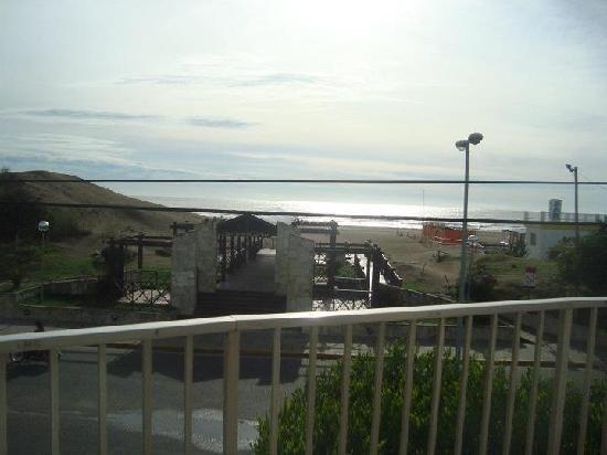 Hotel Altair: Vista desde el desayunador