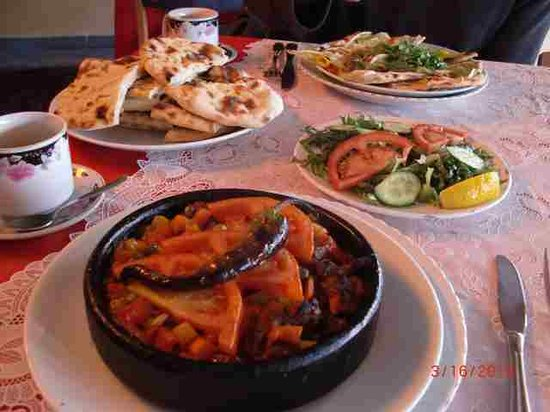 Mercan Restaurant: Our Lunch