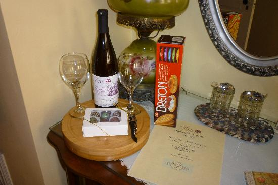 Kingsley House Bed and Breakfast Inn : Goodies!
