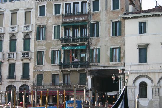 Locanda Ovidius: From a Gondola