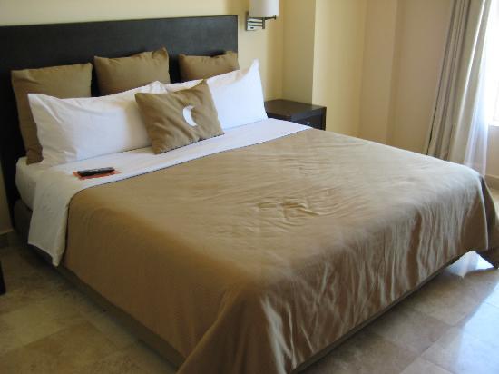 Fiesta Inn Coatzacoalcos: Bed