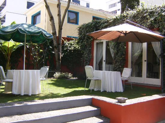 Hostal de La Rabida: If the weather is warm enough, you will definitely want to eat in this lovely courtyard.