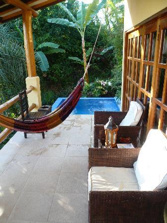 Casa Chameleon Hotel Mal Pais: Villa Vista terrace