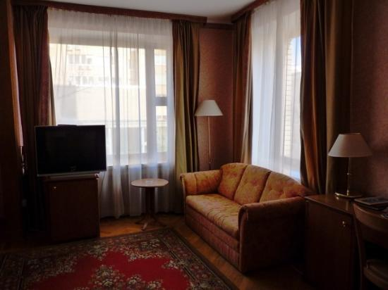 Arbat Hotel: Superior room view 2