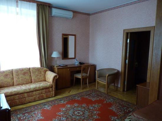 Arbat Hotel: Superior room view 3