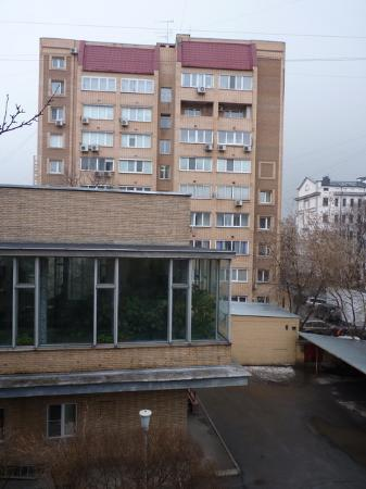Arbat Hotel: The street view from my window 2
