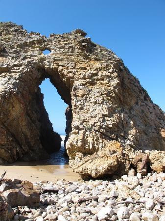 Bitou River Lodge: The arch on Keurboomstrand (beach)