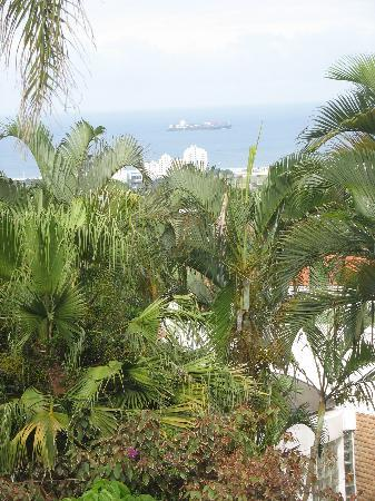 Essenwood House: View of Indian Ocean from our room