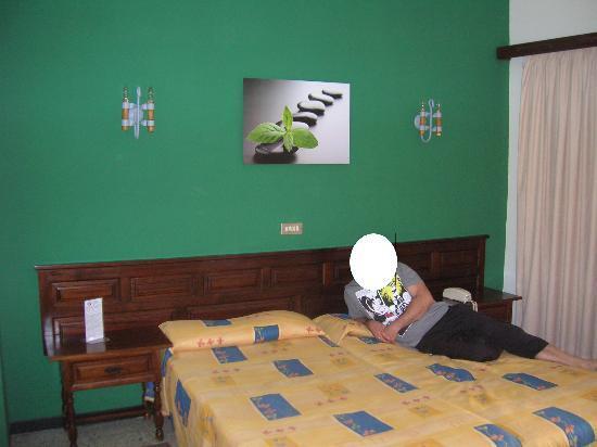 Hotel Tejuma: Las camas
