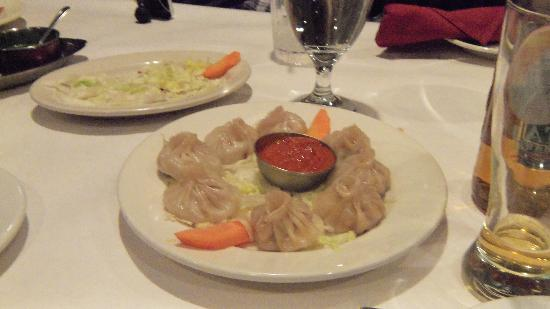 Himalayan Restaurant: Chicken Momo (dumplings)