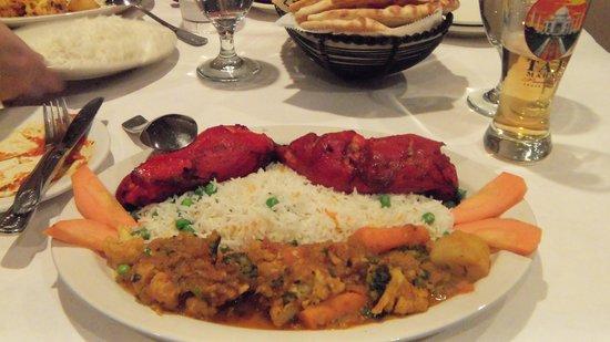 Himalayan Restaurant: chicken Tandoori platter