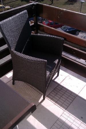 Hotel Park: Terrace