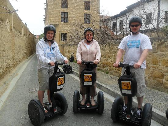 Segway Station Tour Experience: Us on our tour