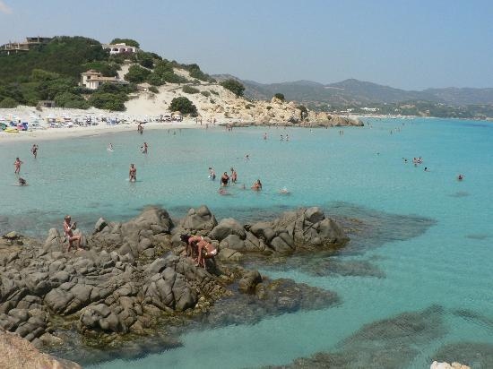 Area Marina Protetta Capo Carbonara : spiaggia Timi Ama