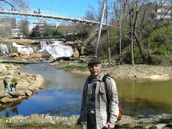 Greenville, SC: The falls