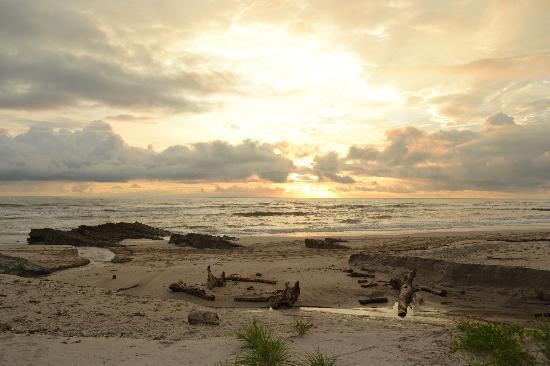 Playa Cielo: Sunset