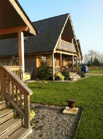 Oasis Lodges: a view of one of the larger lodges