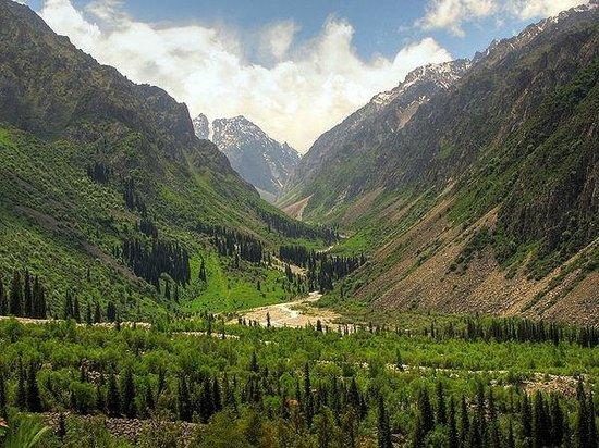 Bishkek, Kyrgyzstan: Gorge