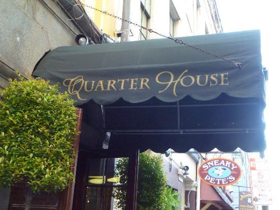 Quarter House Resort: New Awning (installed while we were there)...