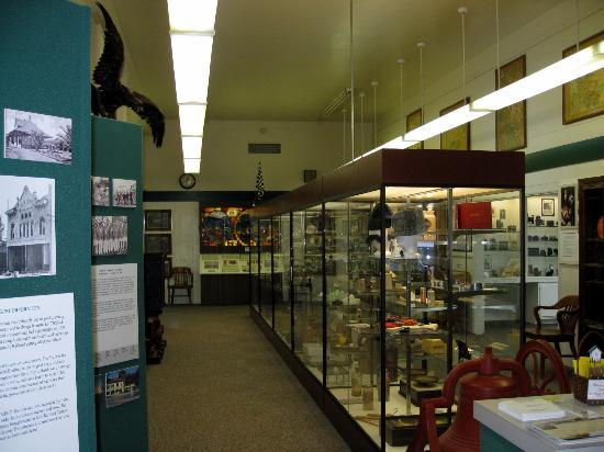 Corona Heritage Park and Museum: Corona Heritage Museum - some displays