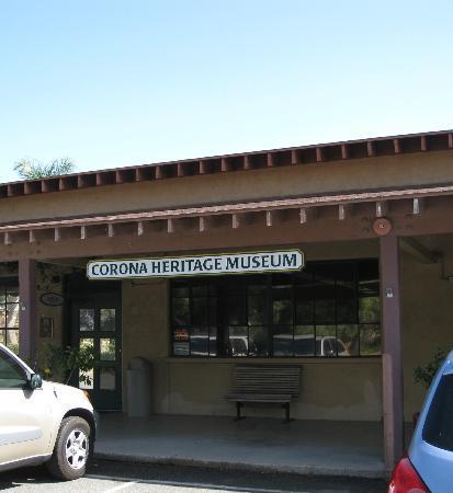Corona Heritage Park and Museum: Corona Heritage Museum