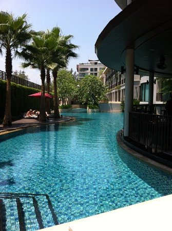 Tara Mantra Cha Am: One of the 3 lovely pools