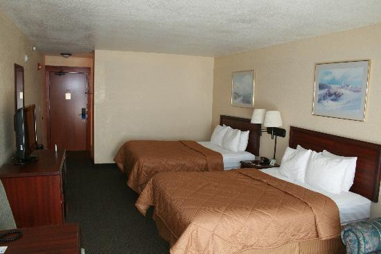 Comfort Inn and Suites Lincoln City: This is the room we booked