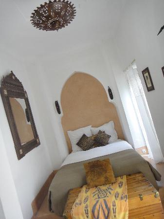 Riad Safa: la chambre!