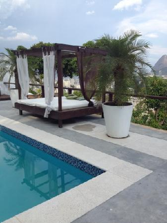 The Villa: View from the pool area, Rio 180