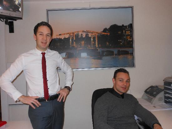 Hotel Residence Le Coin: Our favorite concierges...Dimitri and Jesse