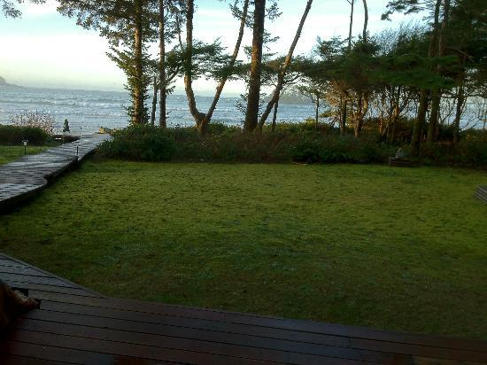 Beach Break Lodge: View from the bedroom :)