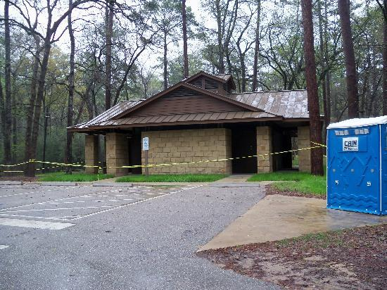 Huntsville State Park: New Future Bathrooms at Prarie Branch