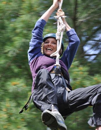 Character Challenge Course: Ziplining in North Dakota!
