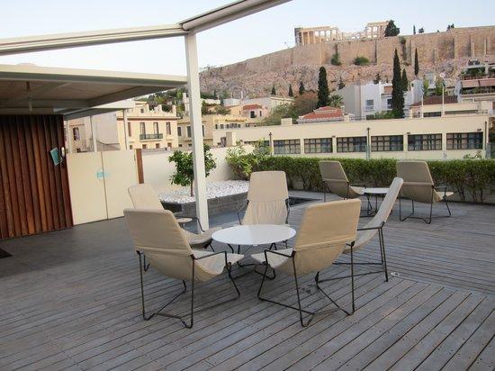 Herodion Hotel: Rooftop Terrace