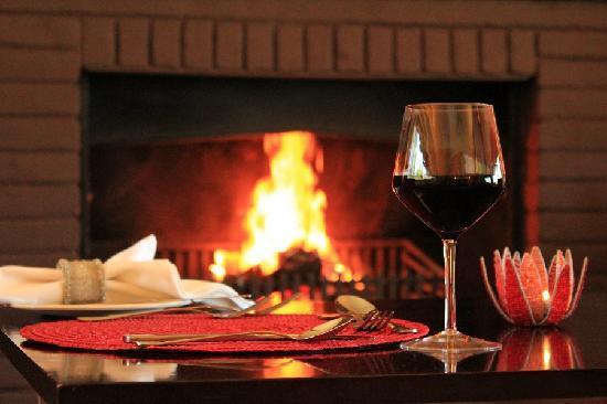Mataffin Hill Lodge: Warm & cozy