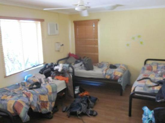 Travellers Oasis Backpackers: Very Comfortable Room